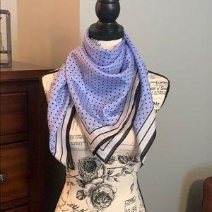 White house black market polkadot scarf